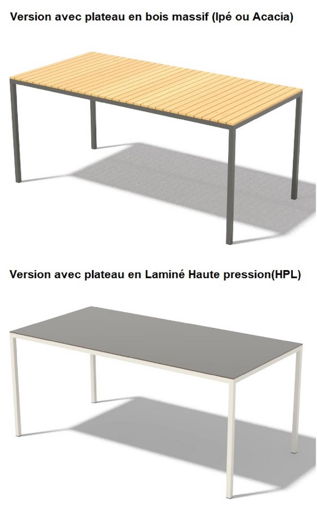 Best Table De Jardin Plastique Cora Contemporary - House ...
