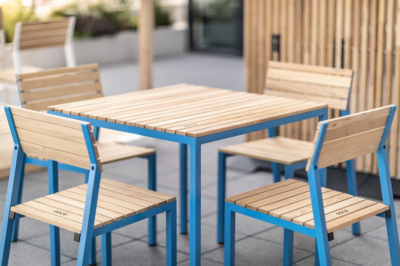 Salon De Jardin Table Et Chaises Aluminium