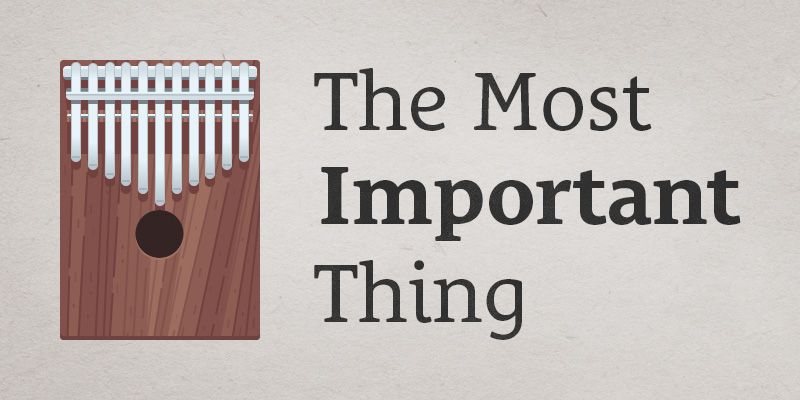 151 The Most Important Thing  Seanwes Podcast
