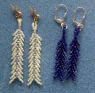 Crystal Scale Earrings