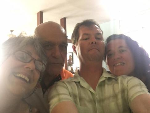 Cuban host family