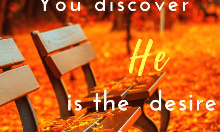 Discovering the Desire of Your Heart