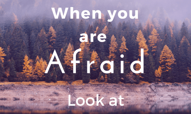Don't Look at the Storm When You are Afraid
