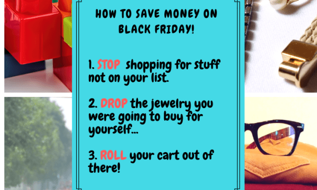How to Save Money on Black Friday