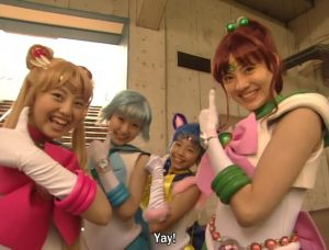 PGSM Sailor Moon, Sailor Mercury, Sailor Luna and Sailor Jupiter