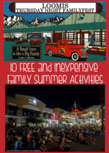 10 free or inexpensive family summer activities