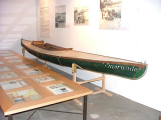 Historic canoes and kayaks