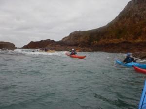 Kayak coaching
