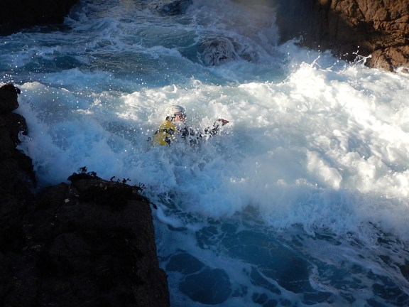 Wednesday coasteering