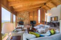 Living Room: Sea Ranch Vacation Rental Abalone Bay