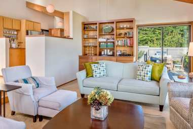 Sea Ranch, Packing List , Abalone Bay , Vacation Rental, living room, Abalone Bay, Sea Ranch, Vacation Rental, oceanfront, ocean view