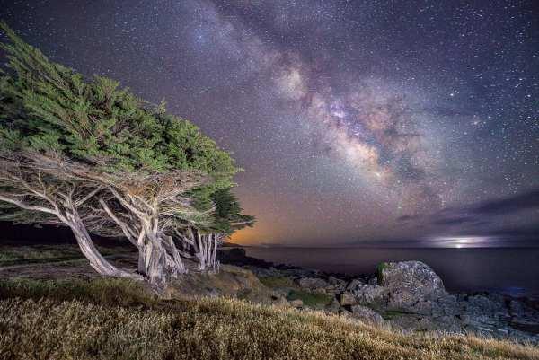 Starry Night Vistas, Milky Way, light pollution, Sea Ranch, Abalone Bay, vacation rental
