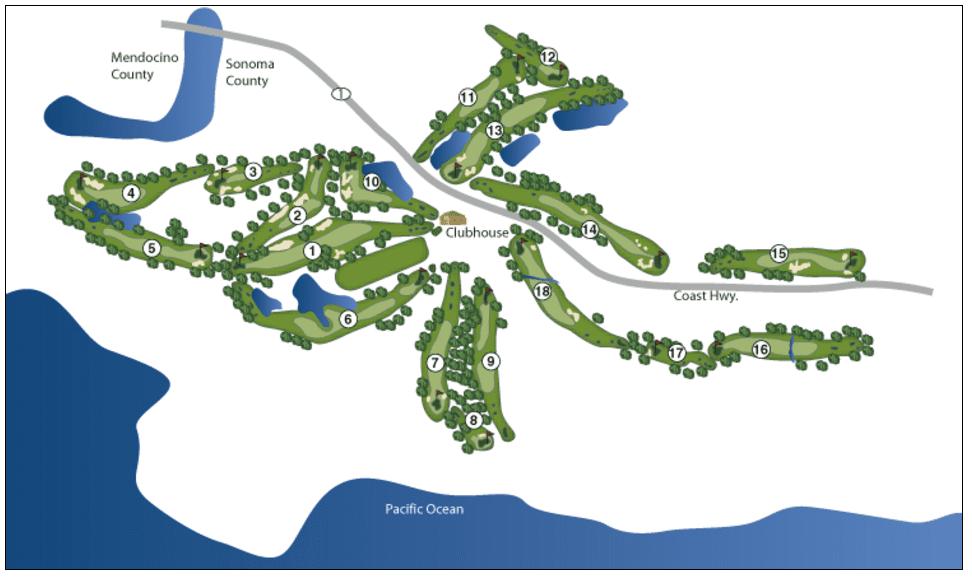 golf, golf holiday, golf tour, Sea Ranch Golf Links