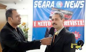 Coquetel de lançamento da Revista Seara News