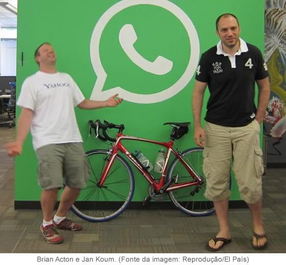 Brian Acton e Jam Koum - A compra do WhatsApp pelo Facebook