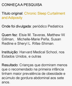 Estudo relaciona falta de sono e obesidade infantil - 2