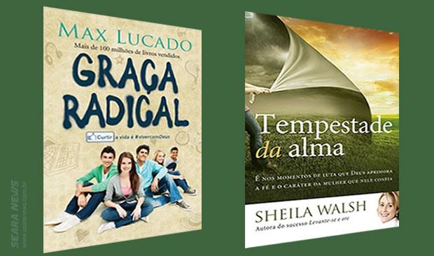 Max Lucado e Sheila Walsh surgem com novos lançamentos da literatura gospel no Brasil