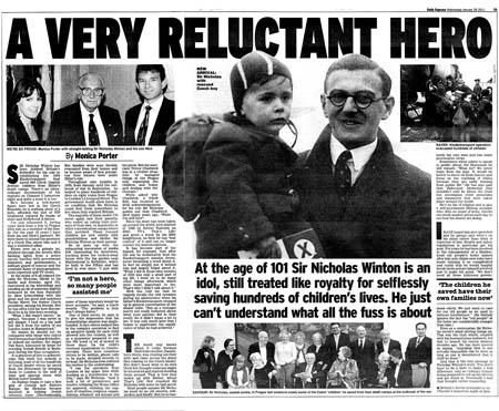 Nicholas Winton salvou 669 crianças de campos de concentração nazista