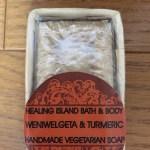 スリランカの石鹸 ベニバル&ターメリック