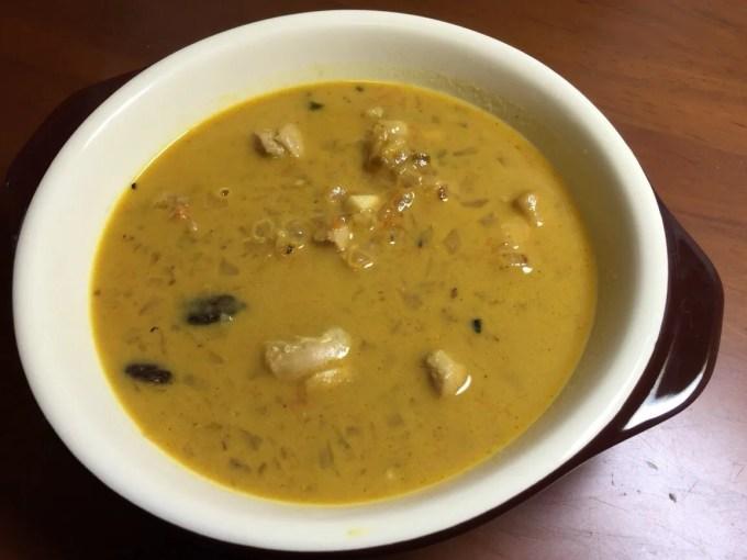 南インドカレーレシピ