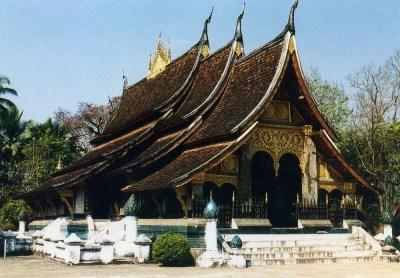 ルアンパバーンのワット・シェントーン寺院