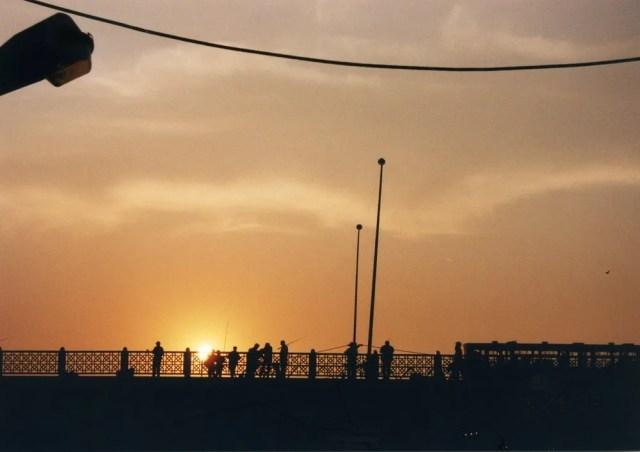 イスタンブールの夕陽
