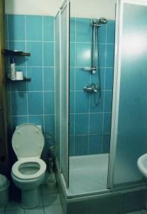 ホテル、グランドオルズのトイレとバス