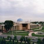 首都タシケントの風景(ティムール広場、ナヴォイ劇場.etc)【ウズベキスタン】