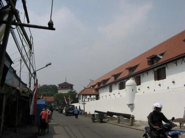 海洋博物館(旧東インド会社のスパイス倉庫)