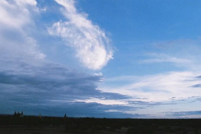名前のわからないパヤーにて夕陽を眺める 【バガン遺跡】【ミャンマー(バガン)】