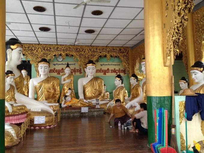 ミャンマー最大の聖地「シュエダゴォン・パヤー」 【ヤンゴン】