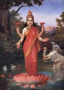 Ravi_Varma-Lakshmi