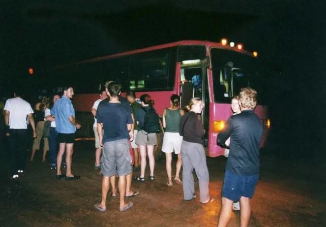 シェムリアップへのバス