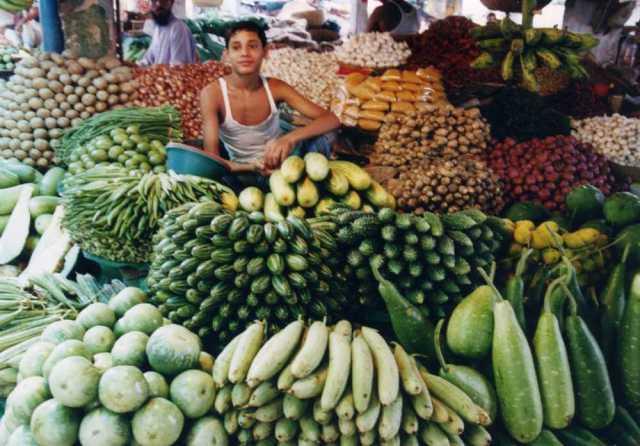 クルナのマーケット バングラデシュ