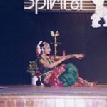 南インドの代表的舞踊「バラタナティアム」(Bharata Natyam)を見ました。