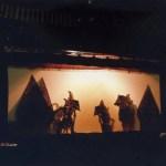 ジョグジャカルタで影絵芝居「ワヤン・クリッ」(Wayang Kulit)を観ました!