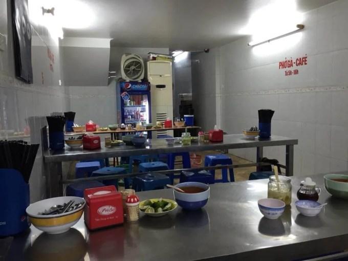 ベトナム4 ハノイ フォーの店 マイアン