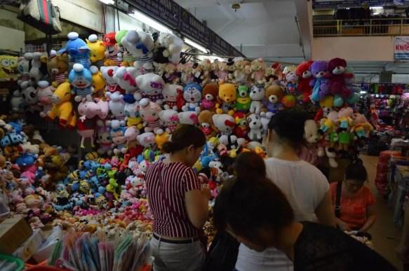 ベトナム4 ハノイ ドンスアン市場