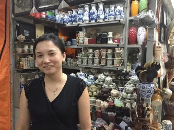 ベトナム4 ハノイ ハンザ・ギャレリア バッチャン焼き