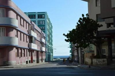 ハバナ新市街の街並み 【キューバ Cuba】