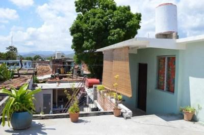 トリニダーのカサ(民宿)の屋上から 【キューバ Cuba】