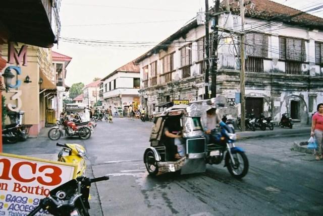 フィリピン、ラワグ。ラワグの街並み
