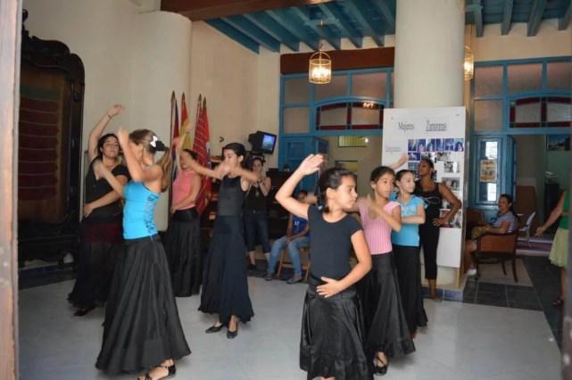 フラメンコの練習、ハバナ旧市街の風景 【キューバ Cuba】