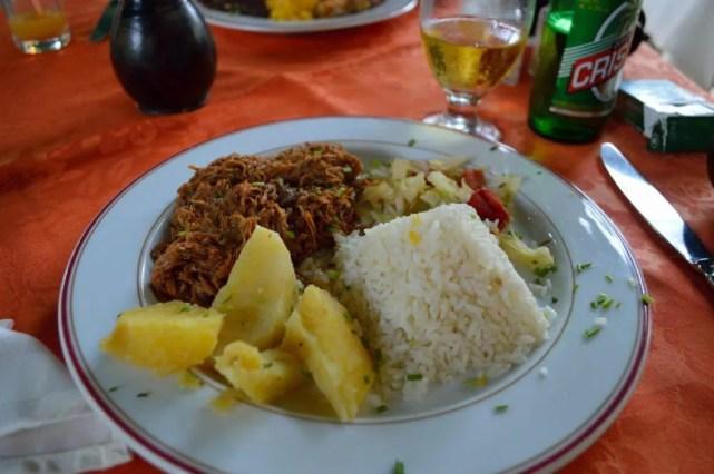 レストラン、ラ・ミーアでの夕食、ハバナ旧市街の風景 【キューバ Cuba】