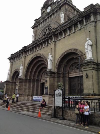 フィリピン、マニラ。マニラ大聖堂