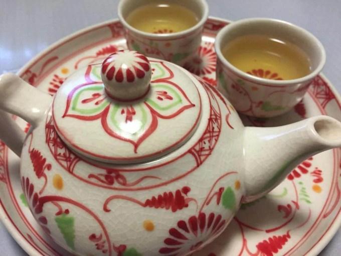 ベトナムお土産 バッチャン焼き ハス茶