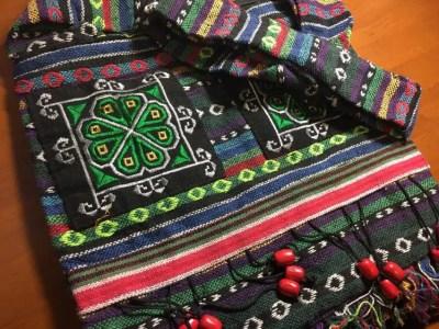 フィリピンお土産 イフガオ族のバッグ