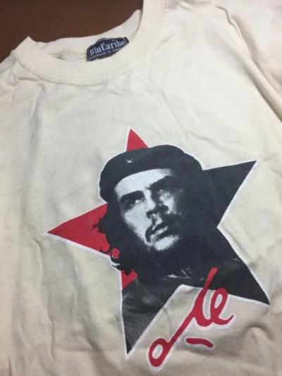 キューバお土産、ゲバラTシャツ