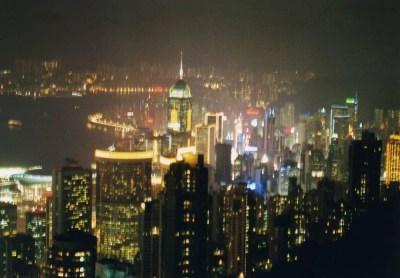 100万ドルの香港の夜景 【香港】