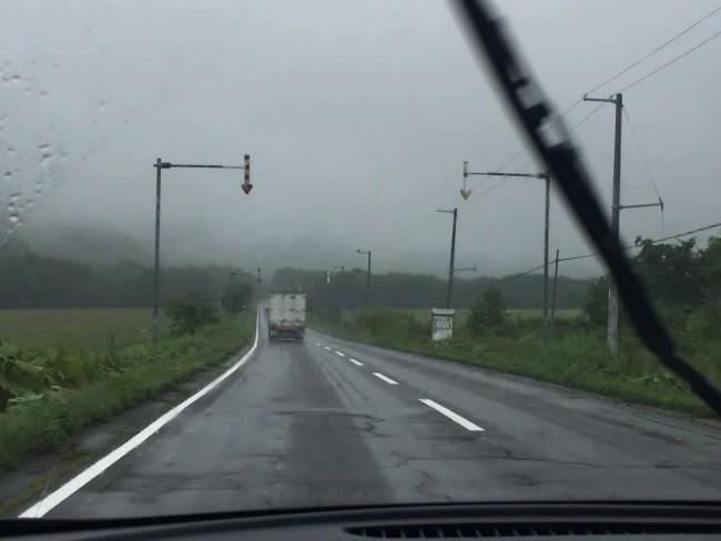 釧路から阿寒湖へ、北海道